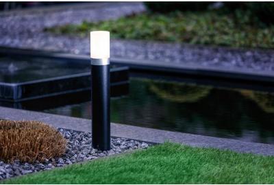 Verlicht sfeervol een object in de tuin