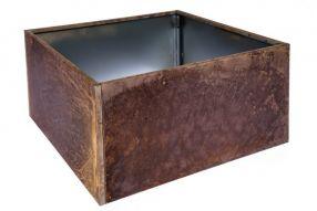 Vierkant 60x60 40 cm Plaatstaal