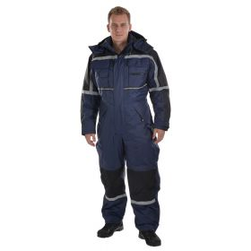 Ocean Thermo ademende winter overall (Navy)