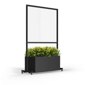 Scherm glas 120 � 49 � 180 cm Glas
