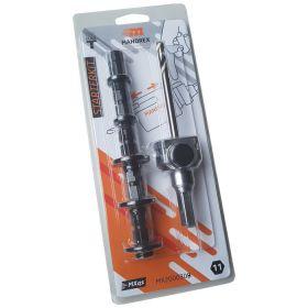 Mandrex Starter Kit Gatzaaghouder zesk 8.5 125mm Centreerboor + 5 adapters