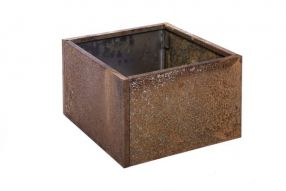 Vierkant 40x40 25 cm Plaatstaal