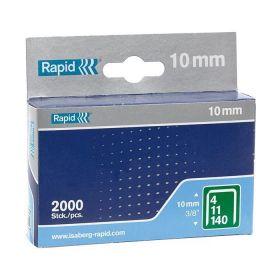 Rapid Nieten 140/10mm Gegalvaniseerd in doos (2000 stuks)