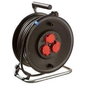 Schwabe Kabelhaspel Rubber H05RR-F 3x1,5 IP44 25m