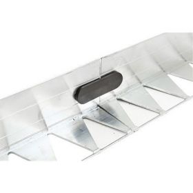 L-EDGE PRO - 250x4.5x5cm - Aluminium. Box of 20 pieces including 20 connectors - 50m