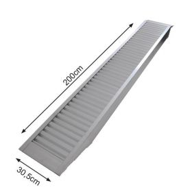Oprijplaat aluminium  (200x30,5 cm) - max. 1655 kg