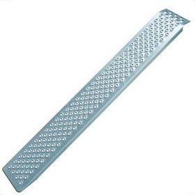 Oprijplaat aluminium (200x21 cm) - max. 200 kg