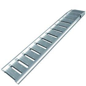 Oprijplaat aluminium  (210x35 cm) - max. 500 kg