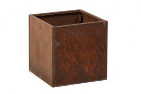 Vierkant 40x40 80 cm Cortenstaal