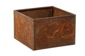 Vierkant 60x60 80 cm Cortenstaal