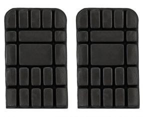 Kniebeschermers - kniestukken universeel zwart 15 x 25cm