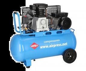 Compressor HL 340-90 10 bar 3 pk 272 l/min 90 l